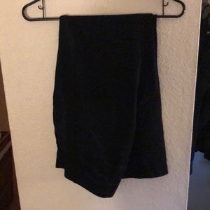 Black pants , size 14w short.